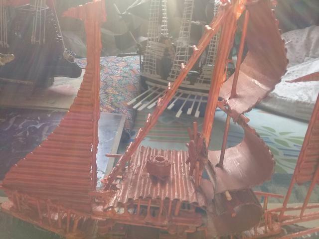 Barcos decorativos artesanais - Foto 2