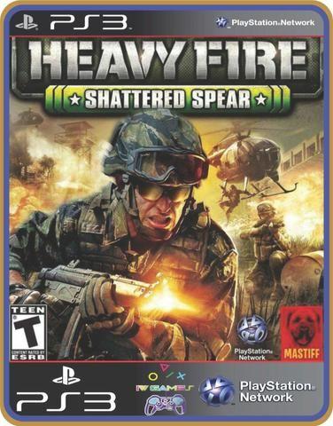 Ps3 Heavy fire conjunto - Foto 3