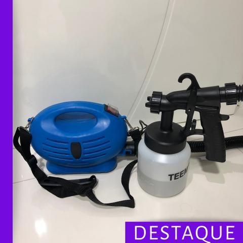Pistola de pintura e pulverização 650W mais forte OLX