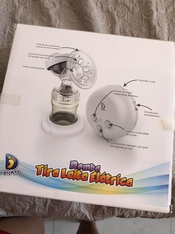 Bomba tira leite elétrica DICAN - Foto 5