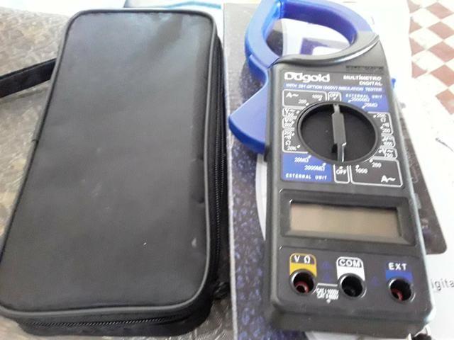 Multimetro digital R$ 100