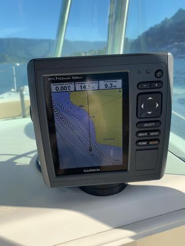 Lancha Fishing 265 - Mercruiser 5.0 V8 gasolina - Impecável - Foto 13
