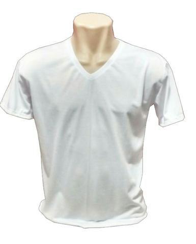 4aee6da00b Camisetas Brancas 100% poliester para sublimação