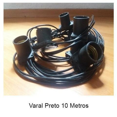 Varal 10 Metros 10 Soquetes - Foto 3