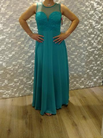 65215fab09445 Vestido verde tiffany olx - Vestidos verano