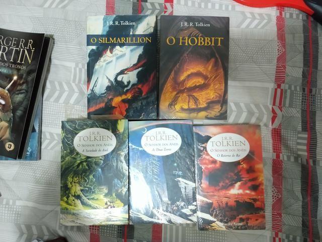 Coleção de livros O senhor dos Aneis