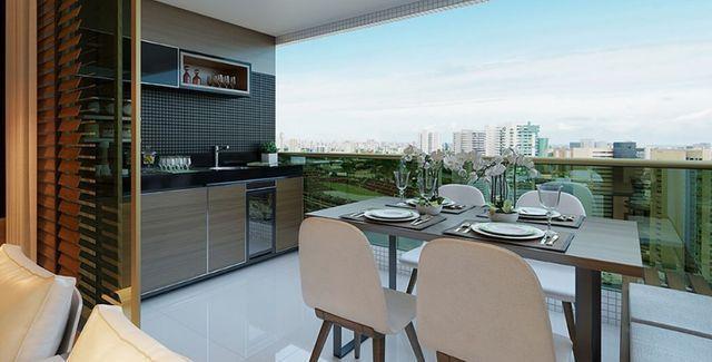 FG*Apartamento 4Qts alto padrão-135M² 3suítes-Ilha do Retiro -Varanda Gourmet - Foto 3