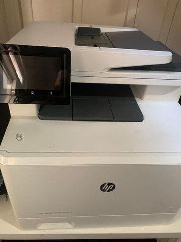 Impressora Laser HP M477fnw Colorida - Foto 3