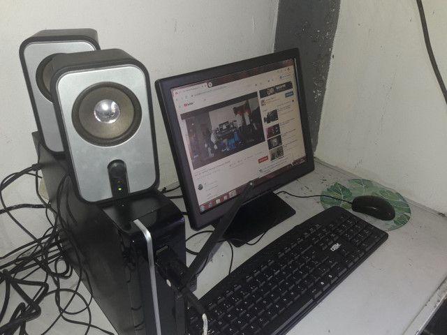 Vendo computador completo Wi-Fi, som home office