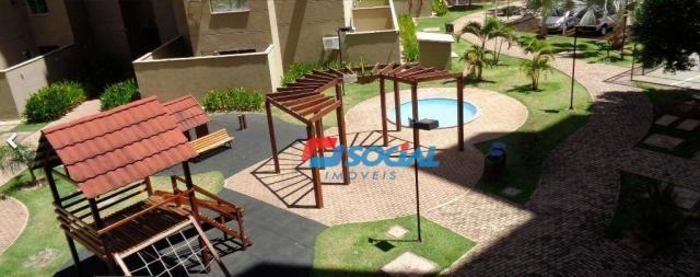 Apartamento TÉRREO com 3 dormitórios. Cond. Brisas do Madeira - Rio Madeira - Porto Velho/ - Foto 16