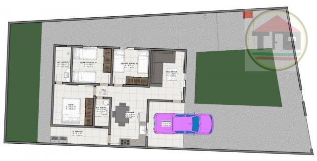 Casa à venda, 62 m² por R$ 145.000,00 - Nova Marabá - Marabá/PA - Foto 3
