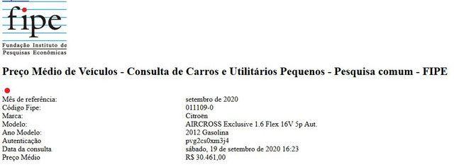 Citroen Aircross 2012 - Vendo