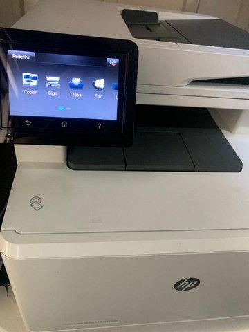 Impressora Laser HP M477fnw Colorida