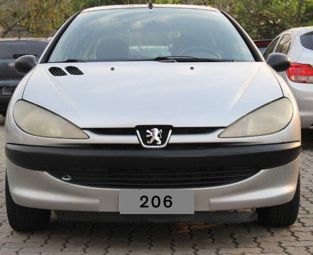 Peugeot 206 Selection Prata, 1.6 16V, modelo 2004 - Foto 2