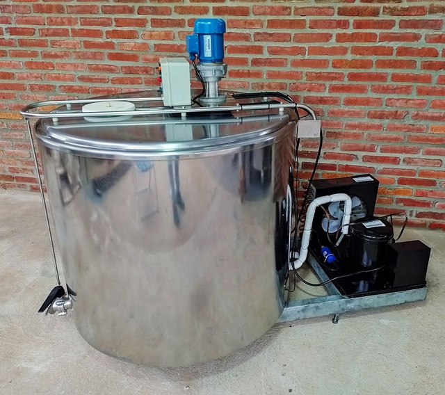 Resfriador Agranel Inox 400 Litros Semi Novo - Foto 2