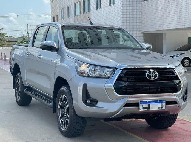Toyota Hilux SRV! 2021! Emplacada 2021! - Foto 3