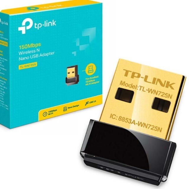 Adaptador nano USB wireless Tp-link TL-WN725N