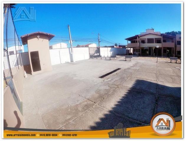Casa com 2 dormitórios para alugar, 63 m² por R$ 800,00/mês - Maraponga - Fortaleza/CE - Foto 3