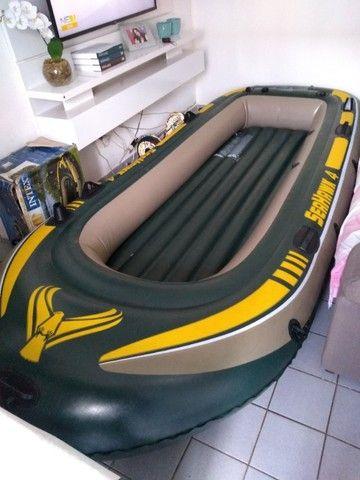Bote inflável Seahawk 4 Intex 4 lugares