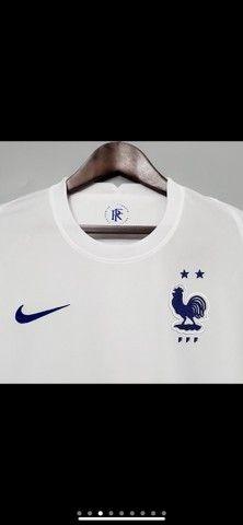Camisetas Seleção da França  - Foto 3