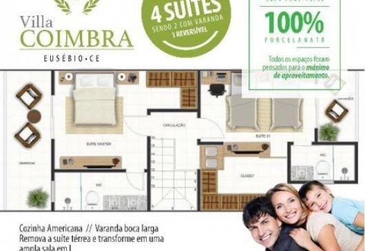 Casa à venda, 4 suítes, Villa Coimbra, Eusébio. - Foto 9