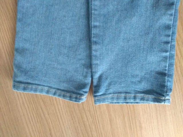 Calça Jeans Azul - Tam 40 (Veste 38) - Foto 6