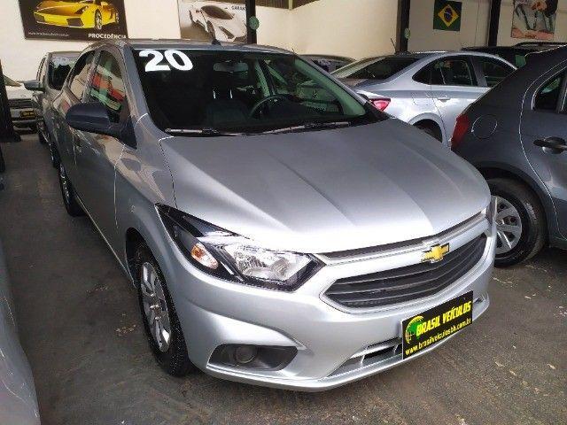 Chevrolet Onix 1.0 Flex 2020 Completo ( Aceitamos troca e financiamos )