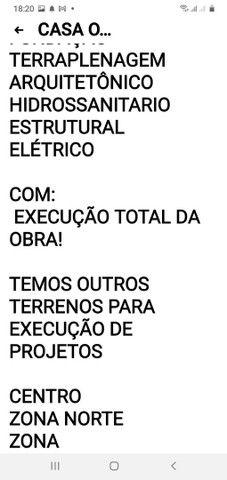 TERRENO COM CONSTRUÇÃO PROJETOS ETC - Foto 3