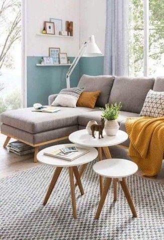 mesas mesinhas kit com 3 tres mesas para decorar sua casa/loja e presentear sua mae