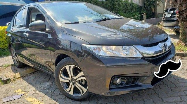Honda City Automatico e Couro 2016 - Foto 5