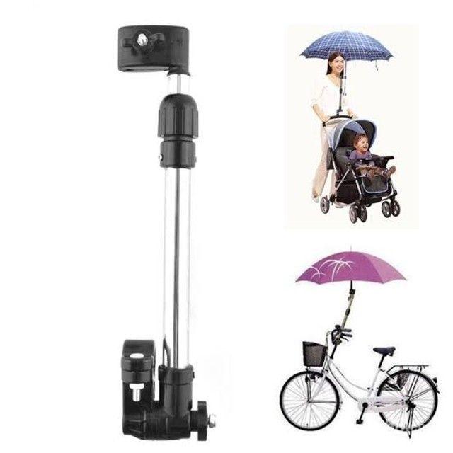 Suporte de guarda chuva para bicicleta - Foto 3