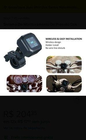 Sistema De Monitoramento De Pressão Dos Pneus Da Motocicleta - Foto 3