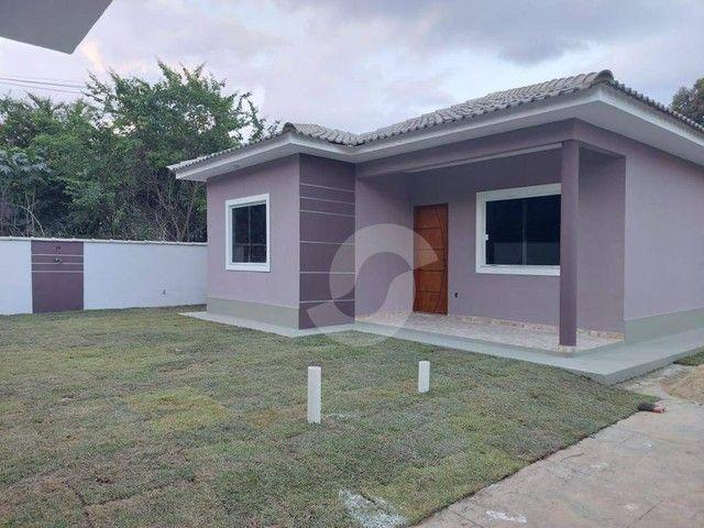 Casa com 3 dormitórios à venda, 82 m² por R$ 350.000,00 - Itaipuaçu - Maricá/RJ