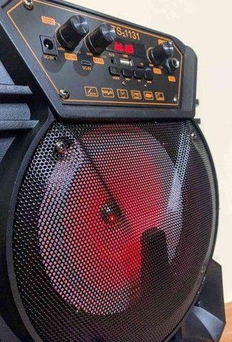 Caixa de som KTS 1131 com controle e microfone - Foto 3
