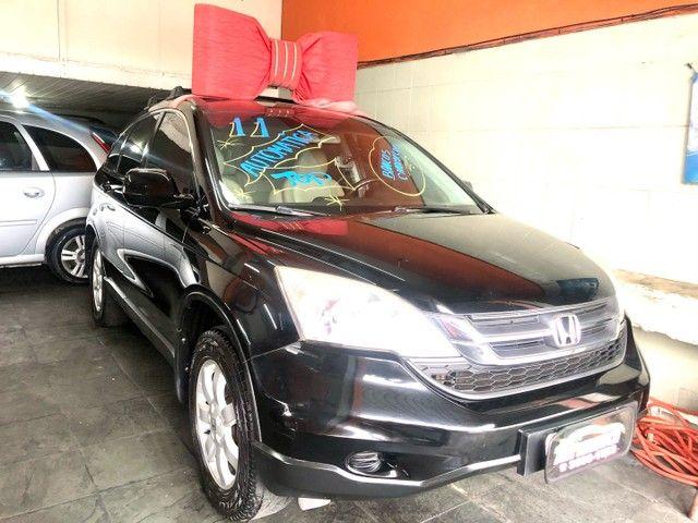 Honda crv automatica top flex bancos caramelo  - Foto 16