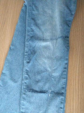 Calça Jeans Azul - Tam 40 (Veste 38) - Foto 5