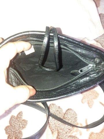 Bolsas em couro legítimo , bem conservadas  - Foto 2