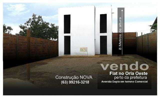 Vendo casa Imóvel Flat em lote comercial no Orla Oeste lago de Palmas Tocantins