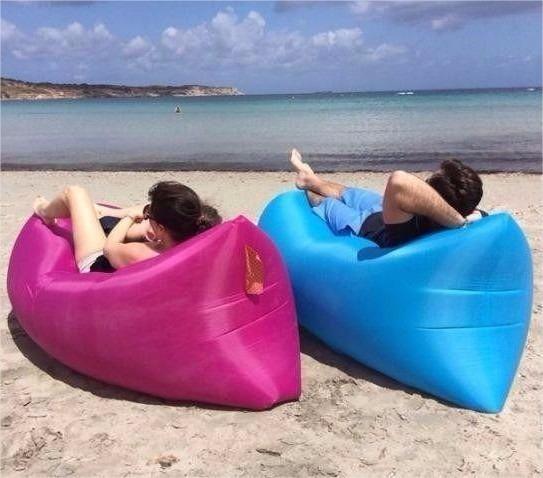 Saco sofá inflavel e confortável 4f9e6779c2c39