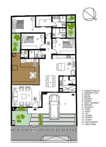 Casa Condomínio Sol Nascente Orla - 200 m² Venda - Foto 17