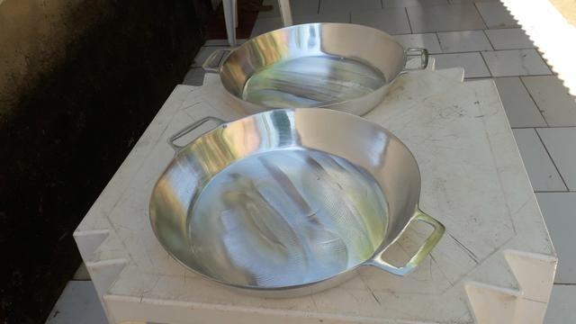 Frigideiras de alumínio batido Grosso - Foto 6