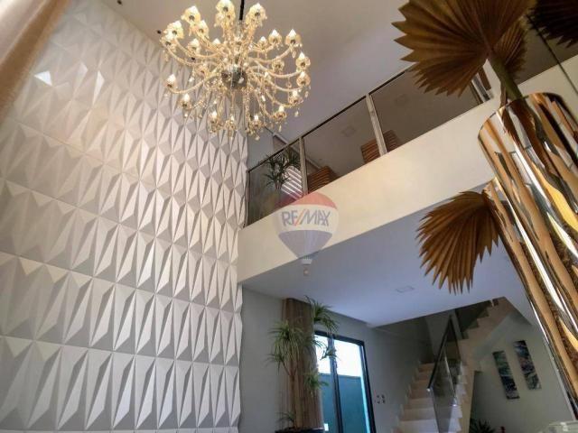 Casa com 3 dormitórios à venda, 337 m² por R$ 2.100.000 - Condomínio Alphaville Fortaleza  - Foto 8