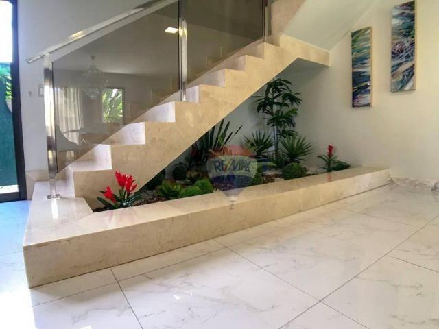 Casa com 3 dormitórios à venda, 337 m² por R$ 2.100.000 - Condomínio Alphaville Fortaleza  - Foto 16