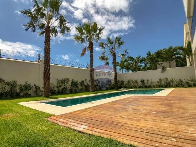 Casa com 4 dormitórios à venda, 360 m² por R$ 1.990.000 - Condomínio Alphaville Fortaleza  - Foto 8