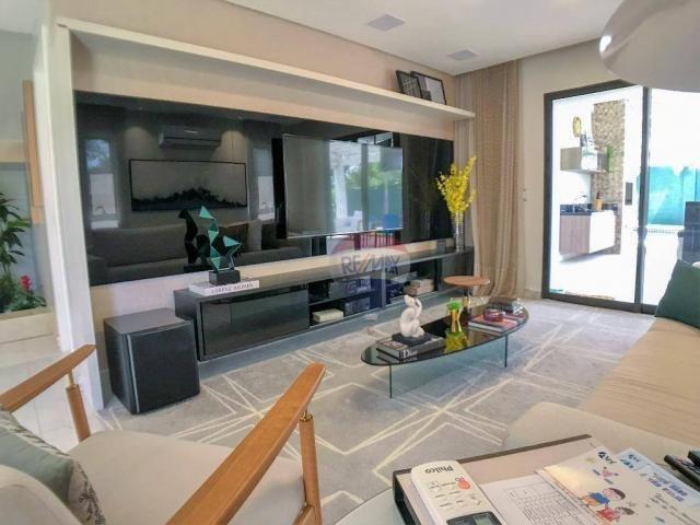 Casa com 3 dormitórios à venda, 337 m² por R$ 2.100.000 - Condomínio Alphaville Fortaleza  - Foto 14