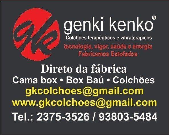 Cama box e colchao D33 Genki Kenko - Foto 2