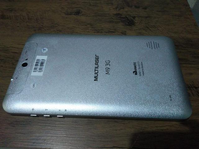 Tablet Multilaser Modelo M9 tamanho 24x14 - Foto 3