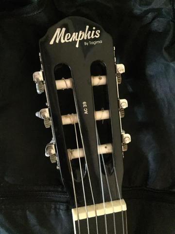 Violão Memphis com capa e Correia - Foto 3