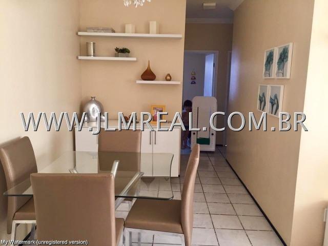 (Cod.112 - Damas) - Vendo Apartamento com 71m², 3 Quartos - Foto 2