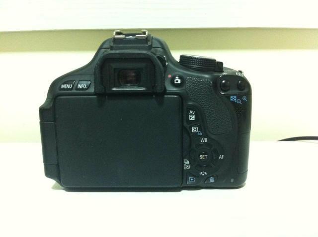 Câmera Canon T3i EOS REBEL - Foto 5